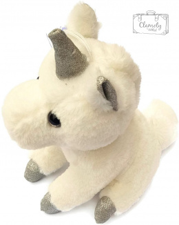 A TOY WHITE UNICORN SUPER GIFT